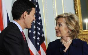 Miliband and Hillary 'vibrant'