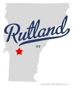 Rutland VT map